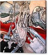 Utah Chrome Canvas Print