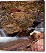 Utah Creek Cascades Canvas Print