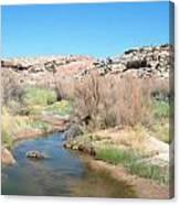 Utah Landscape Canvas Print