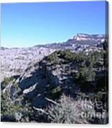 Utah Mountain Canvas Print