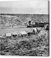 Utah Railroad, 1869 Canvas Print