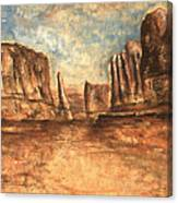 Utah Red Rocks - Landscape Art Canvas Print