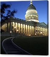 Utah State Capitol Building Canvas Print