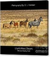 Utah's West Desert Canvas Print
