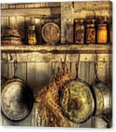 Utensils - Old Country Kitchen Canvas Print