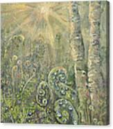 Utopia Fiddle Light Canvas Print