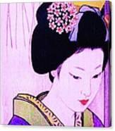 Utsukushii Josei Ichi Canvas Print