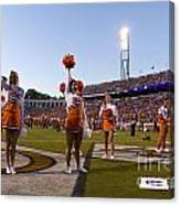 Uva Cheerleaders Canvas Print