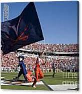 Uva Virginia Cavaliers Football Touchdown Celebration Canvas Print