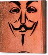 V For Vendetta Canvas Print
