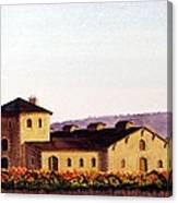 V. Sattui Winery Canvas Print