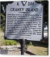Va-k266 Craney Island Canvas Print