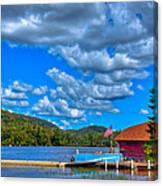 Vacationing On Big Moose Lake Canvas Print