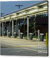 Vacuums At Car Wash Canvas Print