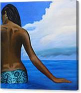 Vahine De Tahiti Canvas Print