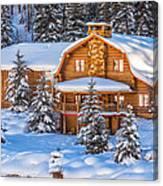 Vail Chalet Canvas Print