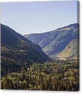 Vail In Summer Canvas Print