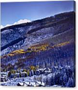 Vail Sunrise Canvas Print