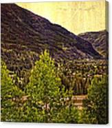 Vail Vista 2 Canvas Print