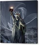 Light Of Liberty Canvas Print