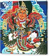 Vaishravnna 4 Canvas Print