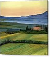 Val D Canvas Print