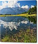 Val Di Sole - Covel Lake Canvas Print