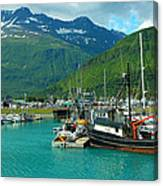Valdez Harbor Canvas Print