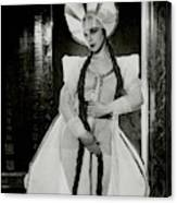 Valentina Koshubaas The Bride In Les Noces Canvas Print