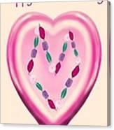 Valentine Gem Canvas Print