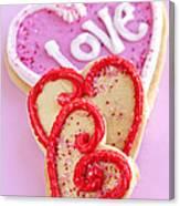 Valentine Hearts Canvas Print