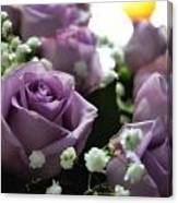 Valentine Purple Canvas Print