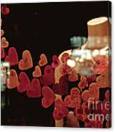 Valentine Window Display Canvas Print