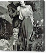 Valentines Day, 1898 Canvas Print