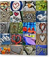 Valentine's Day - Hearts For Sale Canvas Print