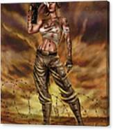 Valkyrie One Canvas Print