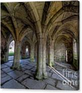 Valle Crucis Chapter House  Canvas Print