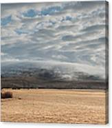 Valley Clouds Canvas Print