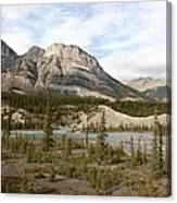 Valley Crossing - Yoho National Park, British Columbia Canvas Print