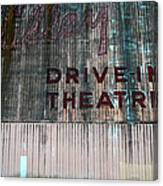 Valley Drive-in Theatre Canvas Print