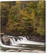 Valley Falls Scene 1 Canvas Print