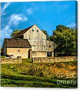 Valley Forge Barn Canvas Print