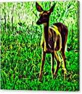 Valley Forge Deer Canvas Print