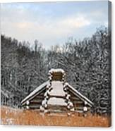 Valley Forge Winter 1 Canvas Print