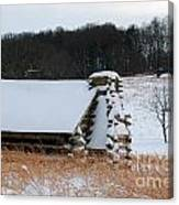 Valley Forge Winter 10 Canvas Print
