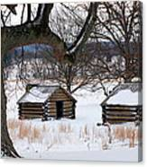 Valley Forge Winter 6 Canvas Print