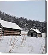 Valley Forge Winter 7 Canvas Print