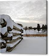 Valley Forge Winter 8 Canvas Print