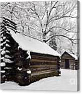 Valley Forge Winter 9887 Canvas Print