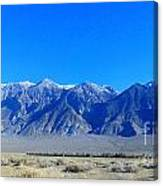 Valley Living Canvas Print